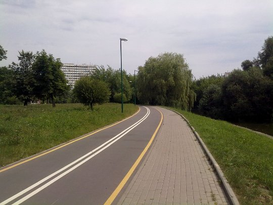 Велопрогулка по Минску