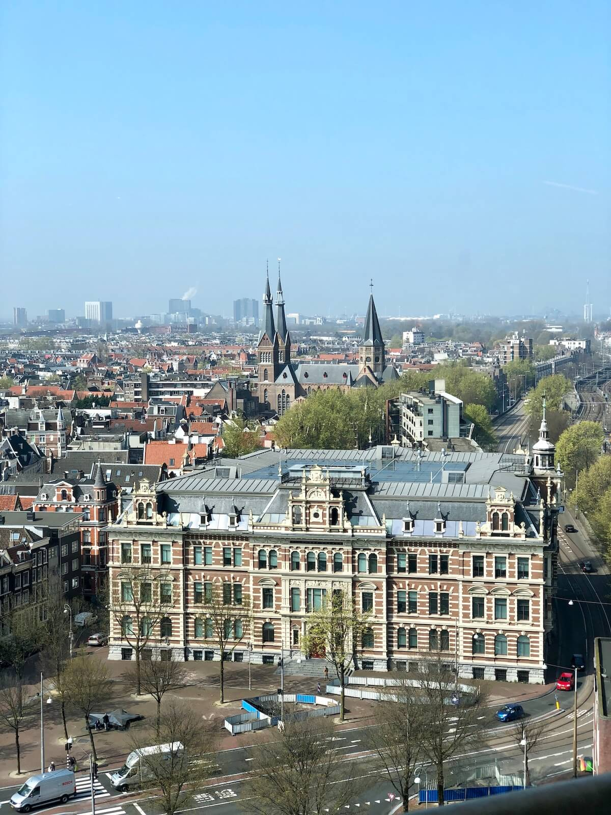 Amsterdam from the height – North