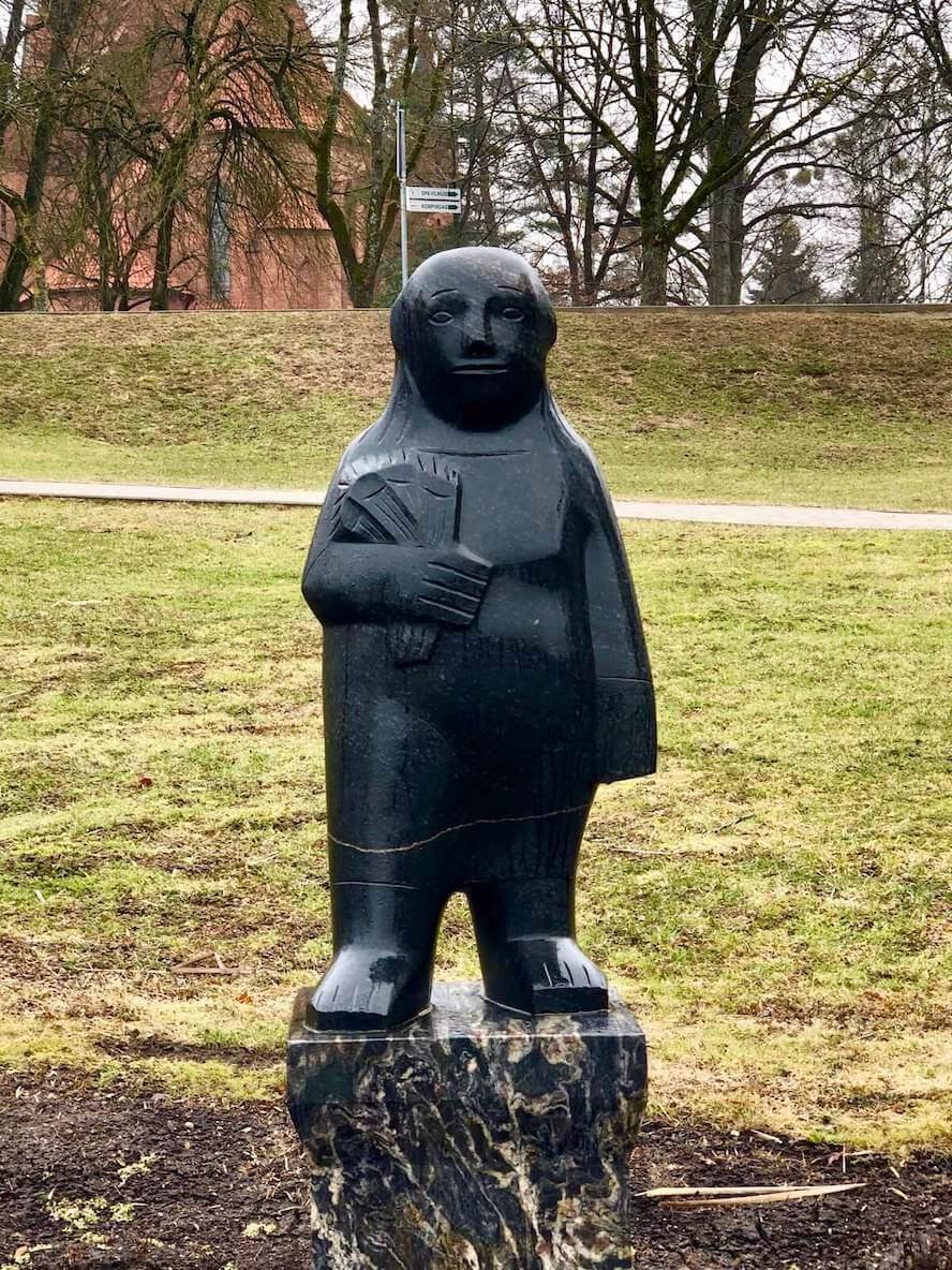 Скульптура в парке Друскининкай